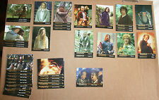 Lot de 38 Trading Cards Lord of the Rings, Topps
