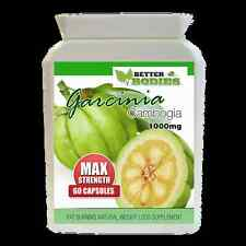 60 GARCINIA CAMBOGIA 1000MG MAX STRENGTH WEIGHT LOSS DIET Appetite Control