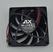 80mm x 80mm x 15mm New Case Fan 12V DC PC CPU Computer Cooling Ball Brg 2 pin