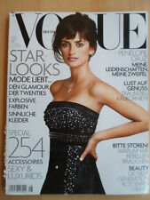 VOGUE GERMANY 8 - 2004 Penelope Cruz Sergio Castellitto Keira Knightley Prada