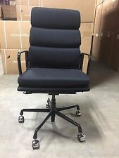 Herman Miller Eames Soft Pad Executive Chair open box Fabric model