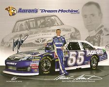 Mark Martin AARONS DREAM MACHINE #55 2012 MWR signed 8x10 photo *FREE SHIPPING*