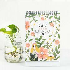 """Nature Girl"" 1pc 2017 Desk Calendar Table Agenda Scheduler To Do List Planner"