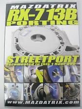 Porting Rotary Engine DVD By Mazdatrix, 13B, 20B, 12A, FD3S, FC3S, SE3P