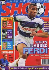 FERDINAND / MAN UTD / LEEDS / BLACKBURN Shoot 4 Feb 1995