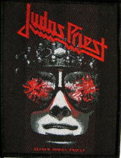 "JUDAS PRIEST PATCH / AUFNÄHER # 20 ""HELL BENT FOR LEATHER"""