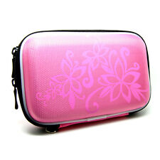 Hard Carry Case Bag Protector For Freeagent Seagate Go Goflex 500Gb 640Gb /PINK