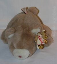 "Vintage 1980 Gund Soft Snuff  Brown Cocoa Teddy Bear  Plush Toy 7"" Tall"