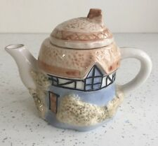 Mini TEAPOT For One Thatched Cottage
