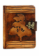 Oak Tree Brown Vintage Leather Kindle Touch Paperwhite Voyage 4 5 Cover Case