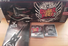 Guitar Hero: Warriors of Rock/Metallica con el controlador inalámbrico PS3 En Caja