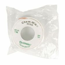 Large 15 Mtr x19 mm Reel, Solder Sucker Braid,  Desoldering Mop Wick Chem-Wik
