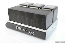 McIntosh MC240 Tube Power Amplifier XLR Balanced VERY CLEAN #25843