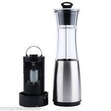 Electric Stainless Steel Salt Pepper Grinder Mill Battery Powered Cooking Tool