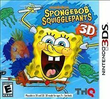 SpongeBob SquigglePants 3D (Nintendo 3DS, 2011)