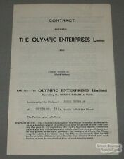1939  Quebec John Duncan Signed Baseball Contract