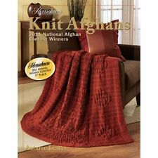 New Herrschners Knit Afghans 2011 National Afghan Award Winners Pattern Book