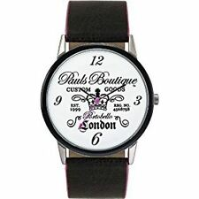 Paul's Boutique Damen Quarz Analoganzeige Uhr PA013BK