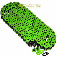 525 x 120 Links Motorcycle ATV GREEN O-Ring Drive Chain 525-Pitch 120-Links