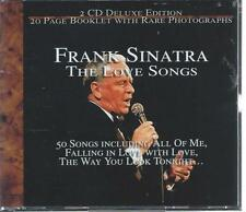 2 CD BOX - FRANK SINATRA - THE LOVE SONGS ( DELUXE GOLD PLATED)