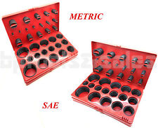 826 Pc. O-Ring Assortment Set Plumbing Metric SAE Orings Rubber Gasket Tool Kit
