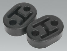 Sealey EX02 Exhaust Mounting Rubbers L60 x D41 x H20 (Pack of 2)