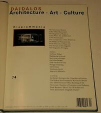 DAIDALOS 2000 #74-75 Architecture Art Culture 2 Vol bnd Architektur Kunst Kultur