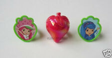 12 Strawberry Shortcake Cup Cake Rings Topper Party Goody Loot Bag Favor Supply