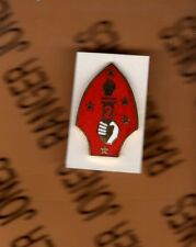 USMC Marine Corps 2nd Marine Division patch crest badge pin 1 inch