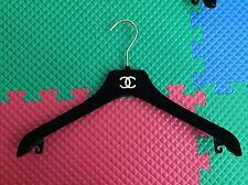 CHANEL Black Velvet Dress Hanger