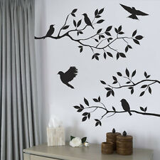 Removable Tree Bird Branch Wall Sticker Vinyl Decal Living Bedroom Kitchen Decor