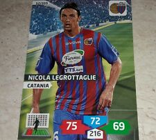 CARD ADRENALYN 2013/14 CALCIATORI PANINI CATANIA LEGROTTAGLIE CALCIO FOOTBALL