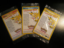 Pokemon COMPLETE Bird MOLTRES ARTICUNO ZAPDOS Black Star PROMO Card Set 21 22 23