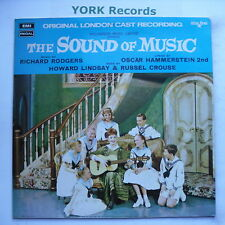 SOUND OF MUSIC - Original London Cast Recording - Ex LP Record Starline SRS 5003