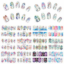 12 Sheets Nail Art Water Transfer Decal Sticker Dreamcatcher BN301-312