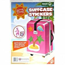 Summer Time Suitcase Stickers