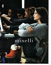 PUBLICITE ADVERTISING 126  2011  Minelli  chaussures boots