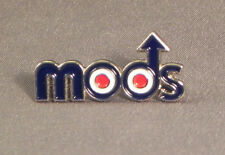 MODS - PIN BADGE - ROCKERS SCOOTER SCOOTERISTS VESPA ROUNDEL LAMBRETTA (AB-44)