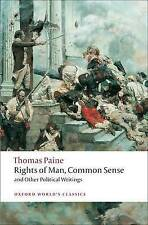 Rights of Man, Common Sense, and Other Political Writings by Thomas Paine (Pape…