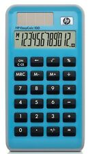 Hewlett Packard HP EasyCalc 100 - 12-digit Solar Pocket Calculator