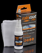 Rain Coat PRO for Helmet Visors, Windscreen and Plastics