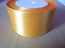 1m Single-Sided Satin Ribbon - 50mm [Various Colours Available]
