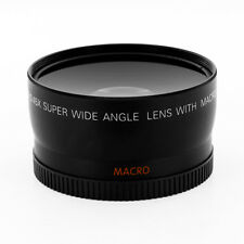 Wide Angle Lens + Macro fo Canon Eos Digital Rebel T5 6 sl1 XTi w/18-55 STM 40mm