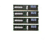 LOT 16GB (4x4GB) - HP 413153-861 4GB  - pc-2700r 333mhz CL 2,5 ECC