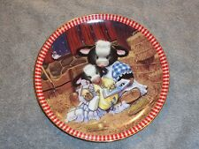 The Hamilton Collection Presents: Pasture Bedtime Plate Number 0616B
