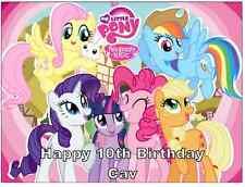 My Little Pony A4 Personalizzato Decorazioni Per Torte Commestibile
