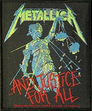 "METALLICA PATCH / AUFNÄHER # 41 ""AND JUSTICE FOR ALL"""