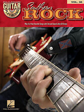 Guitar Play-Along Southern Rock Learn to Play Pop TAB Music Book CD