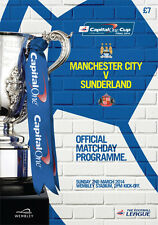 * MANCHESTER CITY v SUNDERLAND - 2014 CAPITAL ONE CUP FINAL (2nd MARCH 2014) *