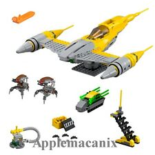 NEW LEGO 75092 Star Wars Naboo Starfighter Set - *NO MINIFIGURES* w/ 2 Droidekas